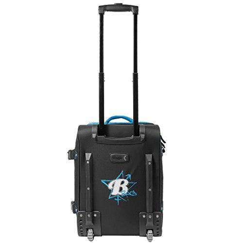BoGi Bag Trolley Reisetasche Check-In Koffer 48 cm, blau/schwarz - 2