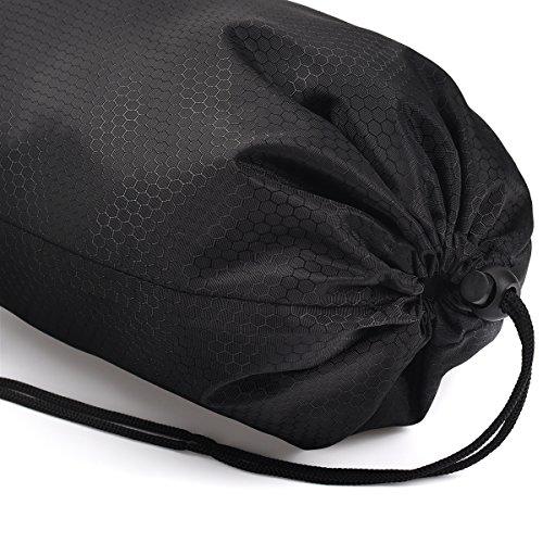 Tyhbelle Kleidertasche Packing Cubes Packwürfel im 7-teiligen Sparset Ultra-leichte Gepäckverstauer Ideal für Reise, Seesäcke, Handgepäck und Rucksäcke (7-teiliges Set, Schwarz) - 4