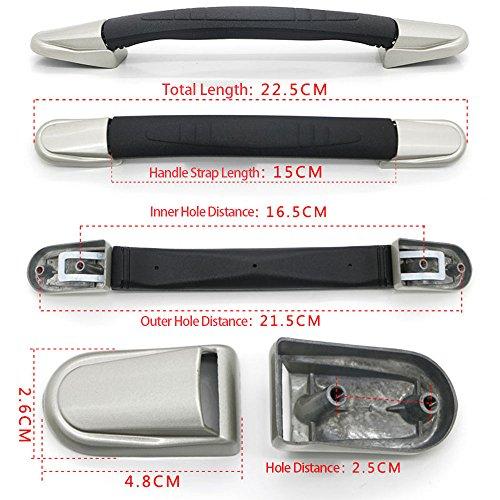 BQLZR Koffer-Ersatzgriff, Ersatz-Tragegriff für Gepäck, 15cm - 7