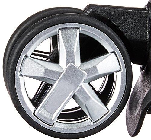AmazonBasics - Ersatzräder für Hartschalen-Koffer, Mehrfarbig - 3