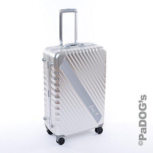 Aluminium-Reisekoffer silber L