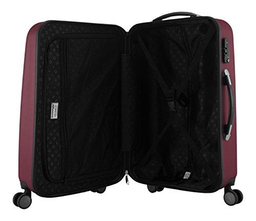 HAUPTSTADTKOFFER – Koffer Handgepäck Wedding Trolley Hartschale – 42 Liter - 8
