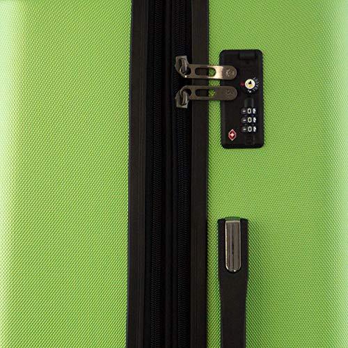 HAPPY TROLLEY by HAUPTSTADTKOFFER® XL Reisekoffer – LUGANO – TSA – 123 Liter - 8