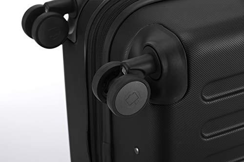 HAUPTSTADTKOFFER · Koffer Spree Trolley Gepäck Hartschale, 65 cm, 82 Liter, matt, Schwarz - 3
