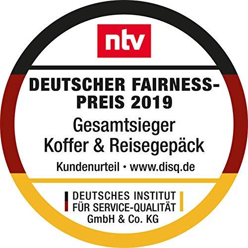 HAUPTSTADTKOFFER · Koffer Spree Trolley Gepäck Hartschale, 65 cm, 82 Liter, matt, Schwarz - 2