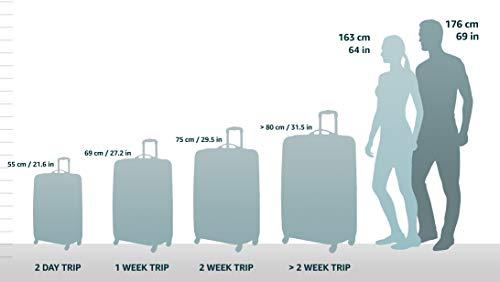 HAUPTSTADTKOFFER – FHAIN Handgepäck Koffer Trolley Hartschale matt – TSA – 37 Liter - 2