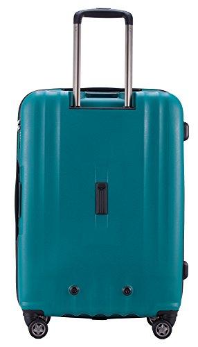 HAUPTSTADTKOFFER – FHAIN Handgepäck Koffer Trolley Hartschale matt – TSA – 37 Liter - 5