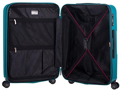 HAUPTSTADTKOFFER – FHAIN Handgepäck Koffer Trolley Hartschale matt – TSA – 37 Liter - 6