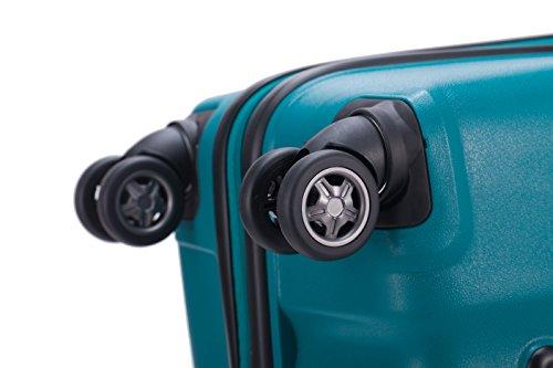 HAUPTSTADTKOFFER – FHAIN Handgepäck Koffer Trolley Hartschale matt – TSA – 37 Liter - 7
