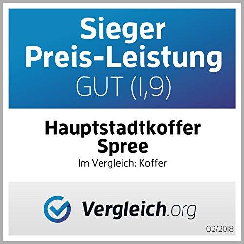 HAUPTSTADTKOFFER · 128 Liter · TSA Zahlenschloss · + GEPÄCKGURT - 2
