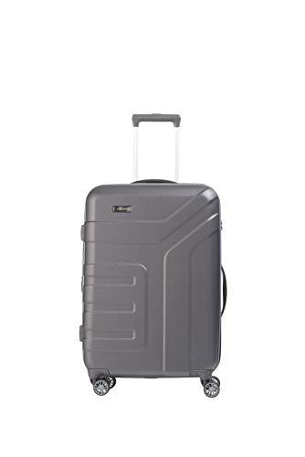 Travelite Vector 4-Rollen-Trolley M - erweiterbar - 80 Liter