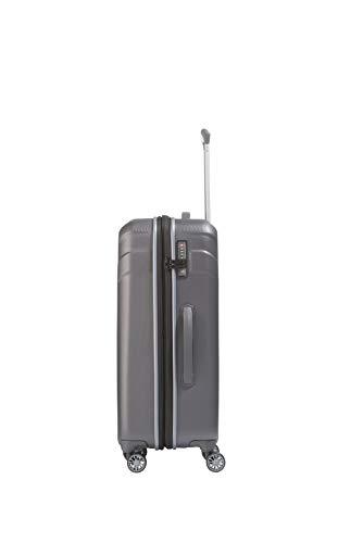 Travelite Vector 4-Rollen-Trolley M – erweiterbar – 80 Liter - 7
