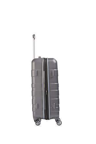 Travelite Vector 4-Rollen-Trolley M – erweiterbar – 80 Liter - 8