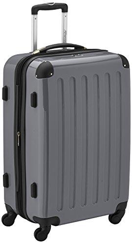 HAUPTSTADTKOFFER - Alex - Koffer Hartschale Titan glänzend, TSA - 74 Liter