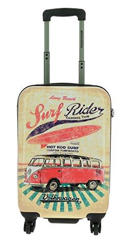 Saxoline Koffer-Trolley VW Surf Rider - Hartschale TSA-Schloss - 24 Liter