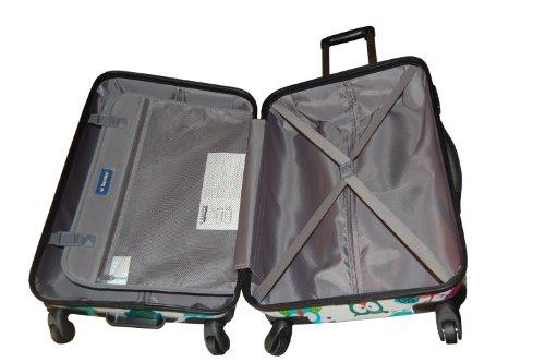 Saxoline Eule Koffer – 81 L, Mehrfarbig - 3