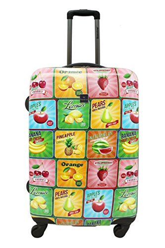 Saxoline Fruit Koffer - 81 L, Mehrfarbig