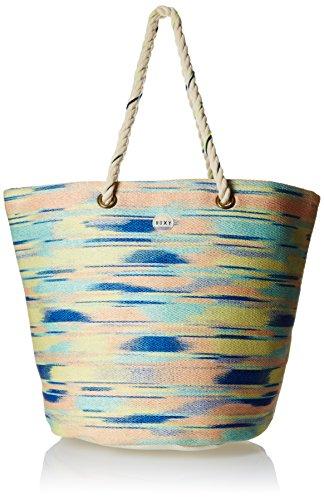 Roxy Damen Tasche Sun Seeker Beach Tote, Ikat Pattern New Combo Chambr, One size, ERJBT03005-PMK6