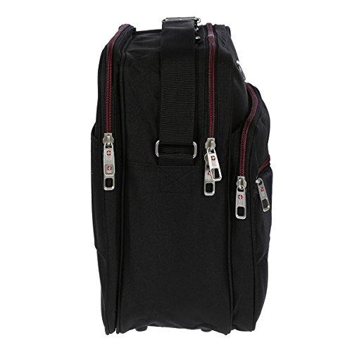 Hochwertiger Flugbegleiter Umhängetasche Arbeitstasche Herrentasche im Hoch und Querformat - 2