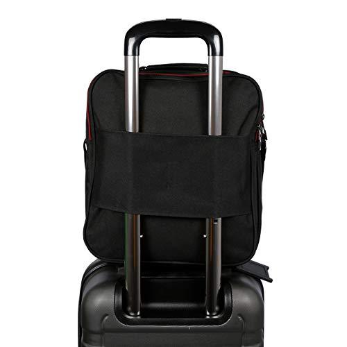 Hochwertiger Flugbegleiter Umhängetasche Arbeitstasche Herrentasche im Hoch und Querformat - 6