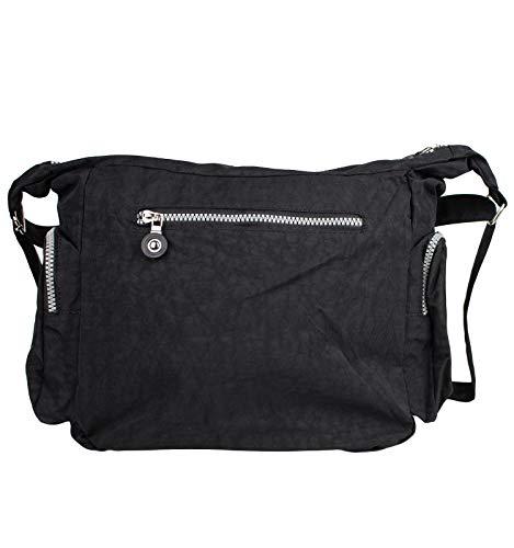 Bag Street Umhängetasche Bodybag schwarz - 4