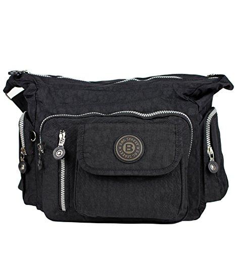 Bag Street Umhängetasche Bodybag schwarz - 2