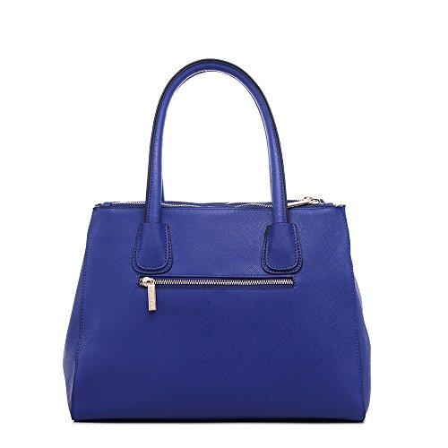 LeahWard® Damen Mode Desinger Qualität Tragetaschen Damen Modisch Hotselling Handtaschen Große Größe Einkaufstaschen CWS00195A (Marine) - 2
