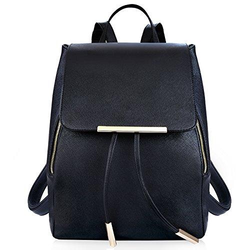 Coofit Damen Rucksack Umhängetasche Schulrucksäcke Leder Reise Daypacks Tasche Schulranzen