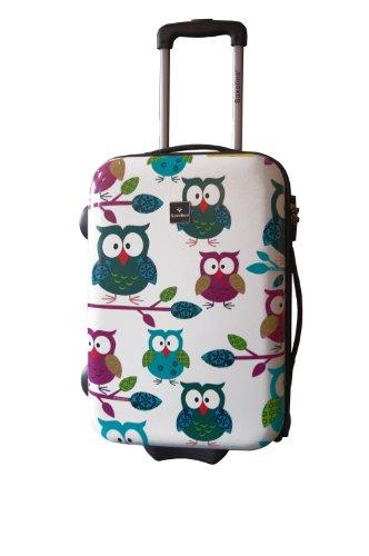 Saxoline Koffer Owls Handgepäck-trolley  29.0 L
