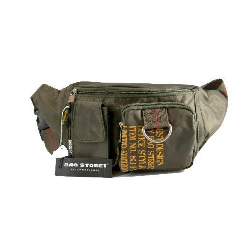 Bag Street Bauchtasche Hüfttasche khaki