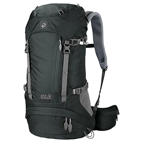 Jack Wolfskin Unisex Wanderrucksack Acs Hike 26 Pack, greenish grey, 63 x 31 x 26 cm, 26 liters, 2004571-6037