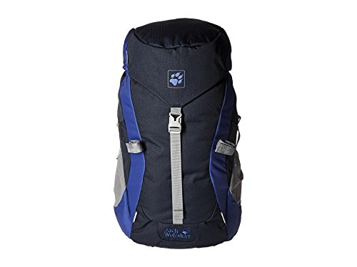 Jack Wolfskin Kinder Rucksack Kids Alpine Trail, Night Blue, 50 x 28 x 14 cm, 20 Liter, 2001921-1010