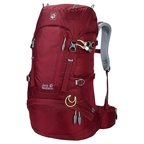 Jack Wolfskin Damen Acs Hike Women Pack Rucksack, Cabernet, 58 x 36 x 16 cm, 30 Liter