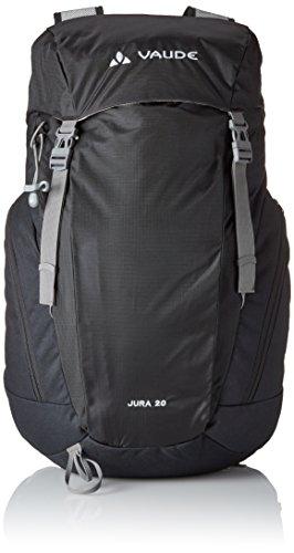VAUDE Rucksack Jura, black, 52 x 3 x 22 cm, 20 Liter, 12156