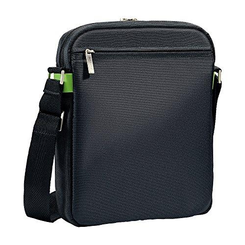 Leitz Leichte Business Messenger-Tasche 15.6 Zoll (geeignet für Laptop, Smart Traveller, Polyester/Metall/Leder, Complete), Schwarz, 60190095 - 4