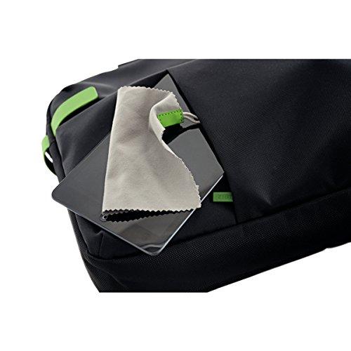 Leitz Leichte Business Messenger-Tasche 15.6 Zoll (geeignet für Laptop, Smart Traveller, Polyester/Metall/Leder, Complete), Schwarz, 60190095 - 18
