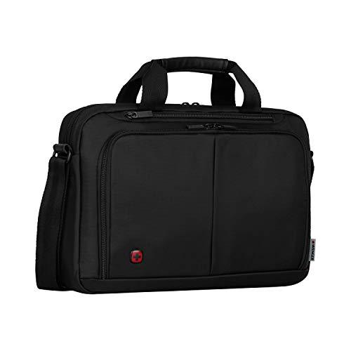"""Wenger Elegante Businesstasche für Notebooks Source bis zu 14"""" Laptop Aktentasche schwarz"""