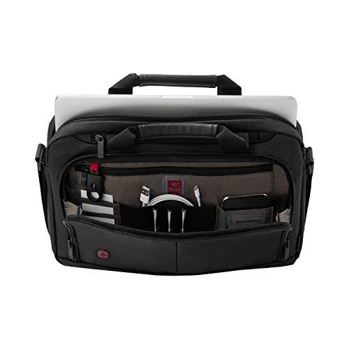 Wenger Elegante Businesstasche für Notebooks Source bis zu 14″ Laptop Aktentasche schwarz - 5