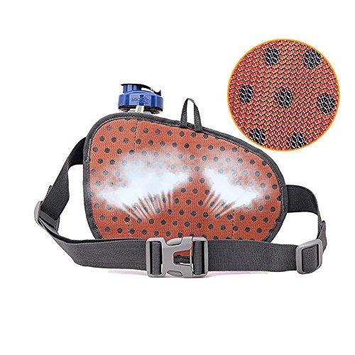 Multi-Function Gürteltasche Bauchtasche Hüfttasche Außen Mit Flaschenhalter wasserabweisend Unisex Taille Tasche nur Tasche Grün - 2
