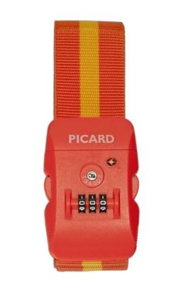 Picard Travel - Accessoire Koffergurt Zahlenschloss TSA Kofferschloss Lock Orange 6743