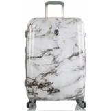 Heys Hartschalen-Trolley »Bianco, 66 cm, Marmor«, 4 Rollen